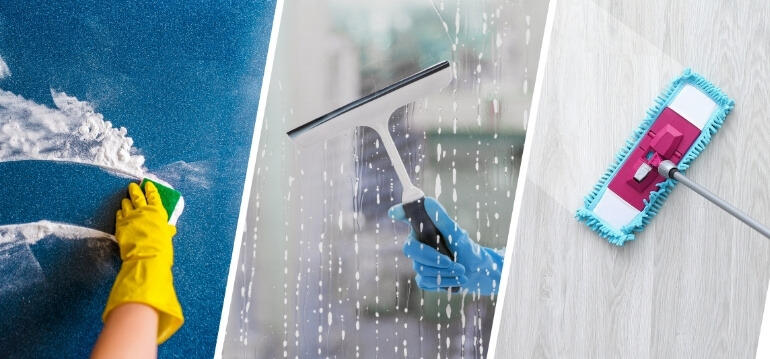 Bond cleaning services
